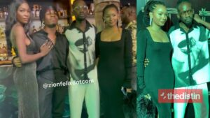 Joeboy and Mr. Eazi and their girlfriends