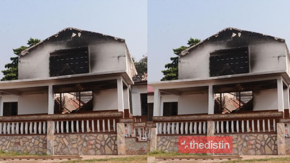 15-year-old Accra Academy SHS Student Arrested For Burning Dormitories To Show He 'Hate' The School