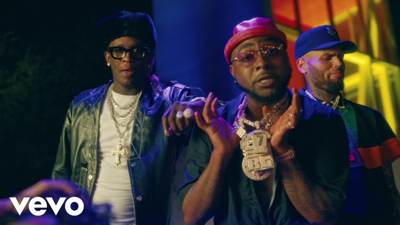 """Music Video: Davido """"Shopping Spree"""" Ft Chris Brown, Young Thug 