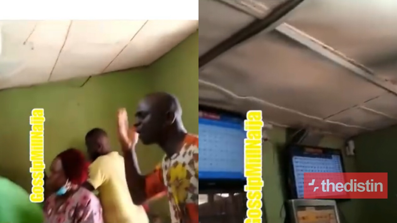 Preacher Storms A Betting Shop To Share The Gospel With Gambling Youths